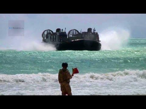 U.S. Navy Landing Craft Air Cushion: Beach Master