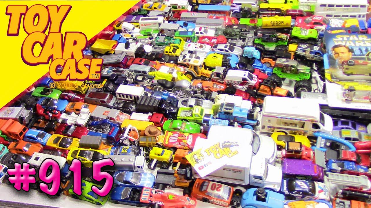 915 Mega Die cast Garage Sale Find 21 Toy Car Case
