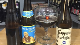 St. Bernardus vs Westy 12 vs Rochefort 10 #748