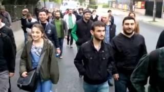 Yüzlerce Nakış İşçisi 1 Mayıs'ta alanlarda atölyelere seslendi!