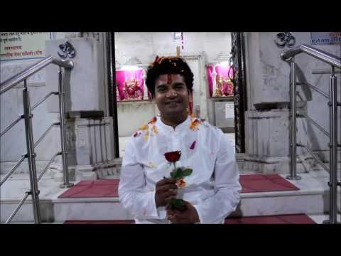 HERO RAJAN KUAMR  IS PLAYING HERBAL HOLI IN MUMBAI