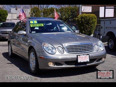 2005 mercedes benz e320 crazy joes auto sales staten for Mercedes benz staten island