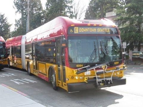 King County Metro (RapidRide) 2013 New Flyer DE60LFR - 6094