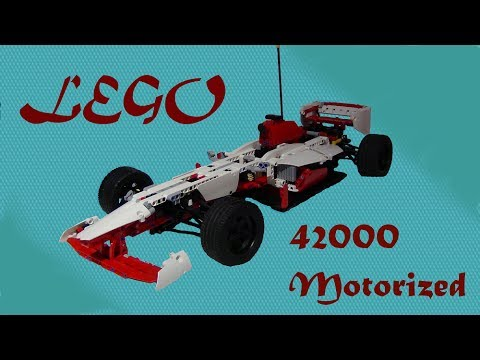 lego 42000 motorized - photo #4