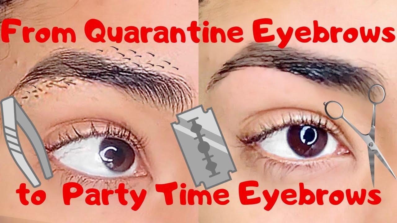 How I Do My Eyebrows at Home    5 Easy Steps - YouTube
