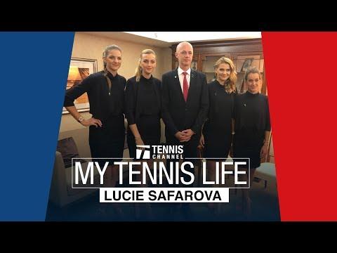 "My Tennis Life: Lucie Safarova Episode 5 ""Go Team Czech"""