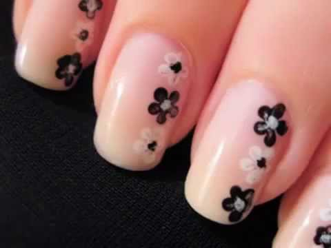 Youtube for Easy nail art designs at home videos