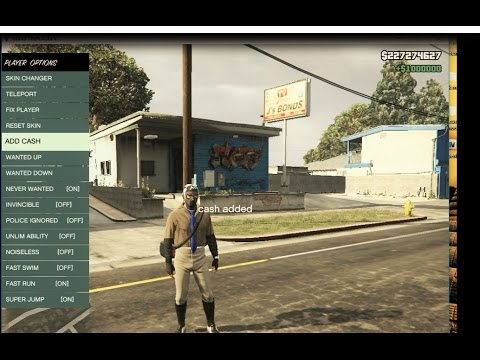 GTA 5 ONLINE 1 36 MOD (NATIVE TRAINER)