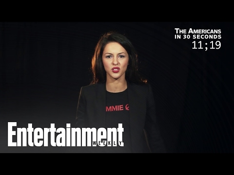 Annet Mahendru Recaps 'The Americans' In 30 Seconds  Entertainment Weekly