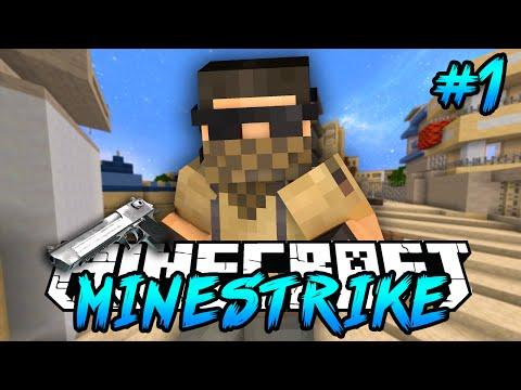 Minecraft: Minestrike! Counter Strike In Minecraft! W/Vikkstar123