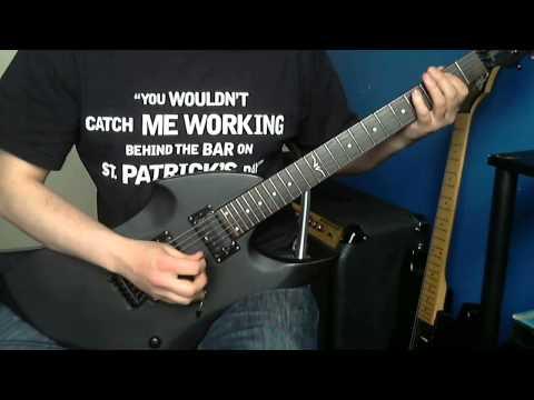 Slayer  The Antichrist Guitar  & Solo Vintage Warp