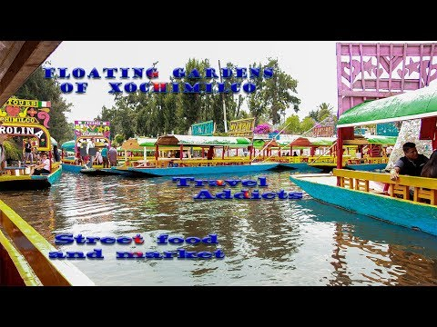 Mexico City Street Food in Xochimilco Floating Gardens