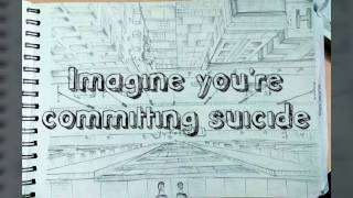 Imagine you're committing suicide draw the view-NATA DRAWING-Perspective Drawing