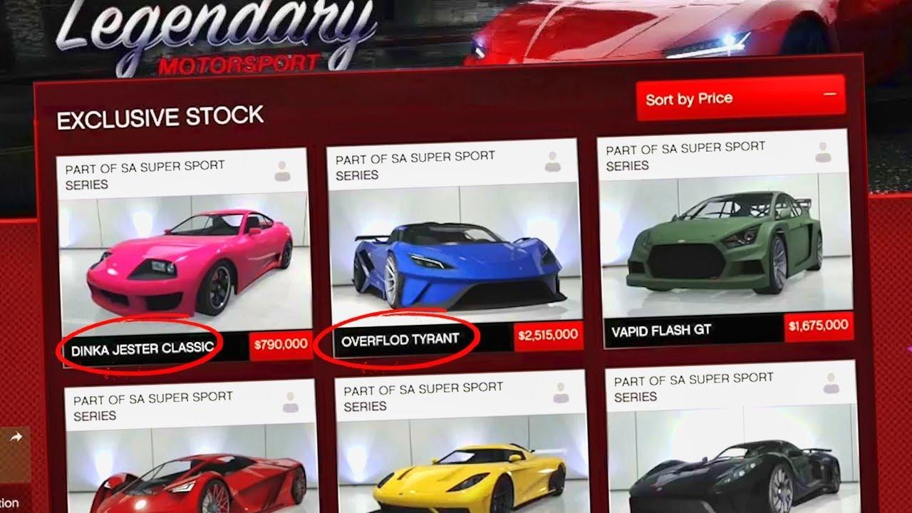 Rockstar *Desbloquea* por Error todos los Coches *OCULTOS* de GTA 5 Online