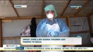 БҰҰ: Эболаның кесірінен Гвинеяда 6 мыңнан астам бала жетім қалды - Kazakh TV