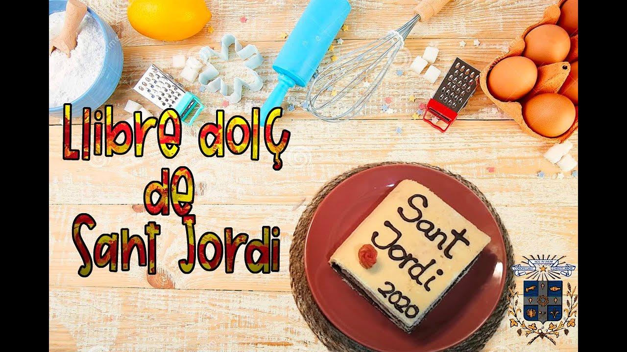 Pastís-Llibre de Sant Jordi