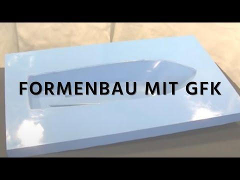 Formenbau mit Faserverbundwerkstoffen GFK - YouTube