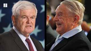 Fox News Shuts Down Newt Gingrich Over Soros Conspiracy Theory