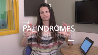 Weekly English Words with Alisha - Palindromes