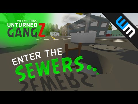 Sewers of St. Petersburg (Russia Map) - Unturned Gangz, Ep 2 #NB4L