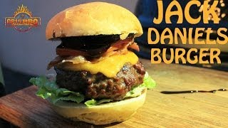 Tgi Friday's Jack Daniels Burger Interpretation - English Grill- And Bbq-recipe - 0815bbq