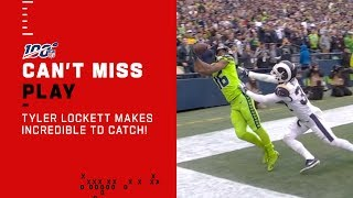 Did Tyler Lockett Just Make the Best Catch of the Year?