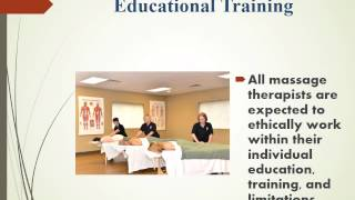 Ethics for the Massage Therapist 3 CE hours