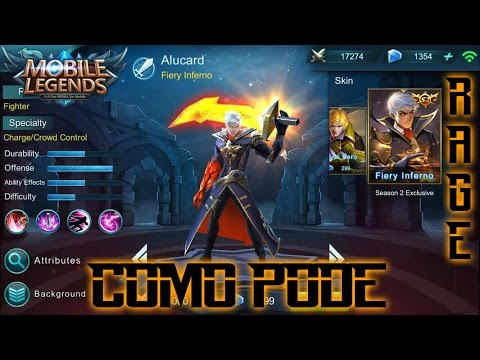 "Mobile Lag - Bug Bug ~ O DRAMA DE UM YOUTUBER  - ALUCARD ""GAMEPLAY + BUILD"""