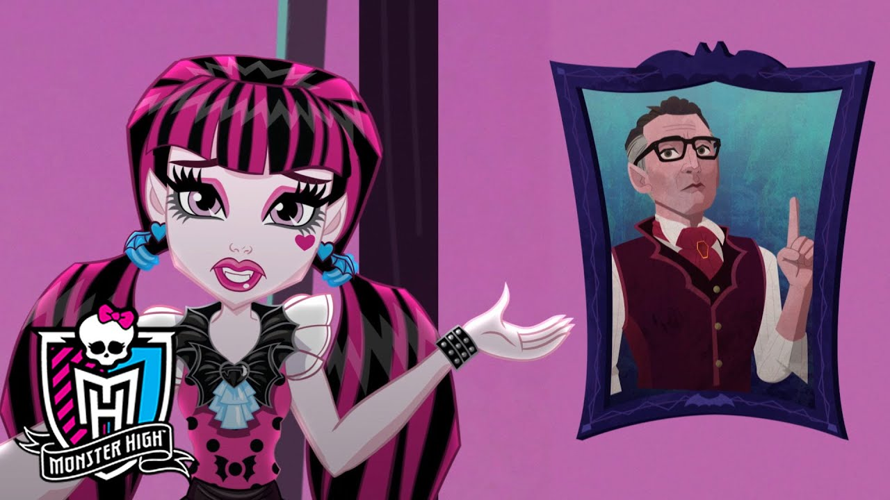 draculaura meet the ghouls monster high youtube