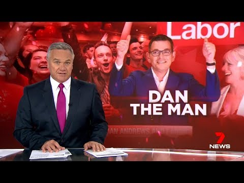 Labor Party Wins Crime Ridden Victoria By Default.(Election) Nine Seven News.
