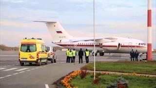 Борт МЧС доставил в Пермь туриста, у которого в Египте на отдыхе случился инсульт(, 2015-09-18T11:26:56.000Z)