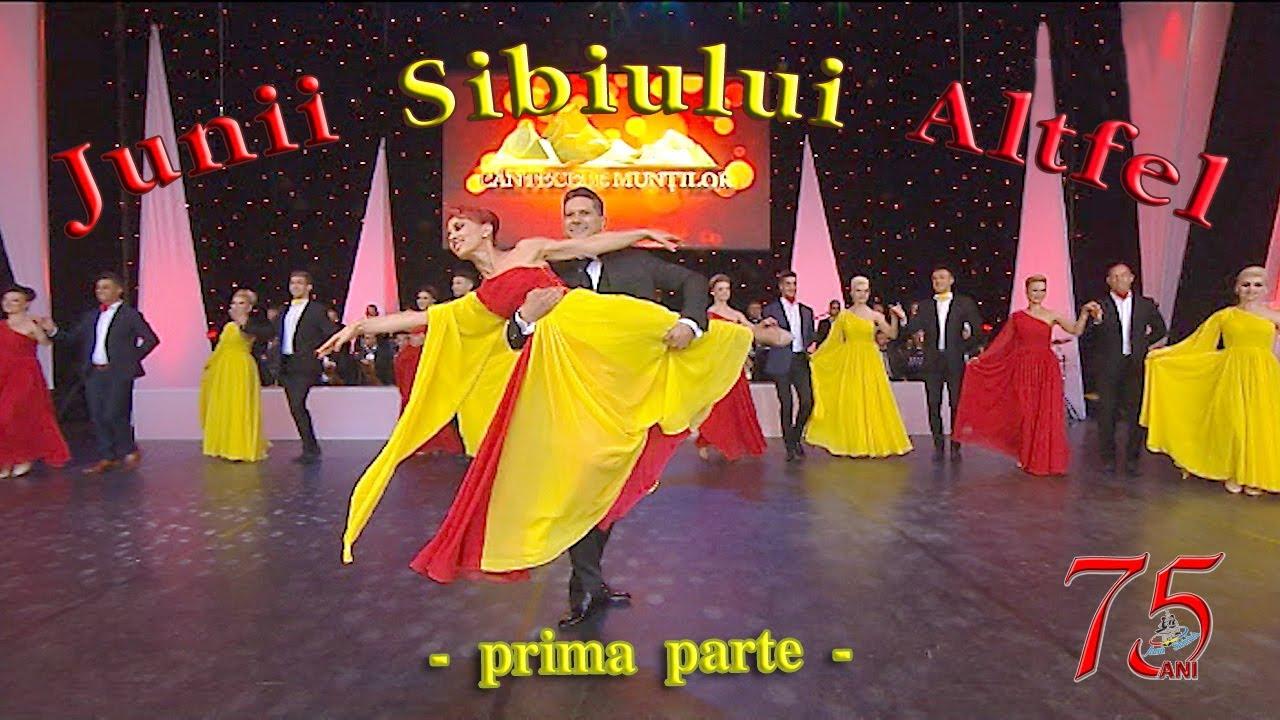 ,,Junii Sibiului Altfel'' la Festivalul Internațional de Folclor ,,Cântecele Munților'