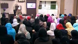 Gulshan-e-Waqfe Nau Lajna, 23 May 2009, Educational class with Hadhrat Mirza Masroor Ahmad(aba)