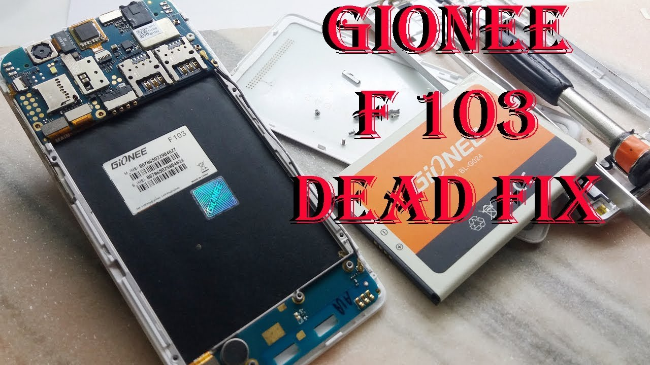Gionee F103 Dead and Overheat Fix