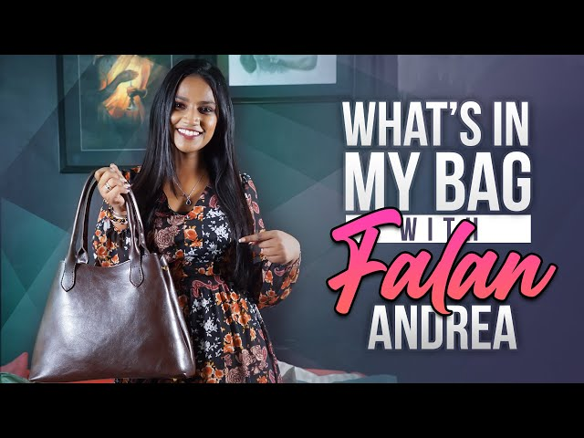 Falan Andrea : What's in My Bag | E26 | Bold & Beautiful