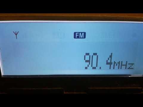 [tropo] 90,4 - YLE Radio 1, Oulu/ Kiiminki-Isohalme, Finland, 887 km, 24th September, 2017