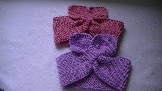 Вязание повязки