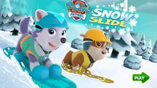 PAW Patrol Snow Slide (Щенячий патруль: Зимние миссии)