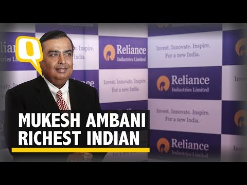 Mukesh Ambani Richest Indian on Forbes List for 10th Straight Year | The Quint
