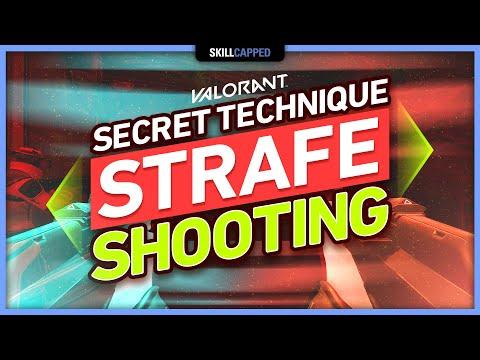 The SECRET TECHNIQUE of STRAFE SHOOTING - Valorant Tips, Tricks & Guides!