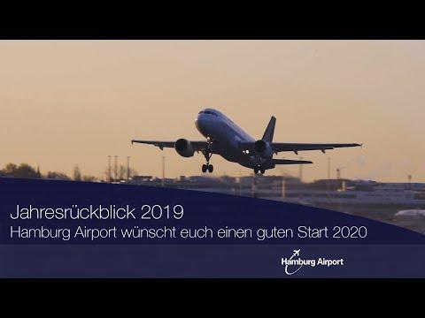 Der kleine Jahresrückblick am Hamburg Airport