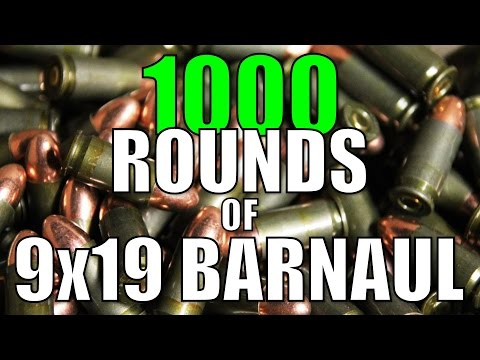 The Big Barnaul Test - 1000 rounds