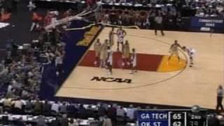 2004 Final Four Georgia Tech-Oklahoma State End of Game