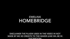 Homebridge-ewelink plugin