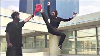 Tiger Shroff Stunts Practice For Munna Michael