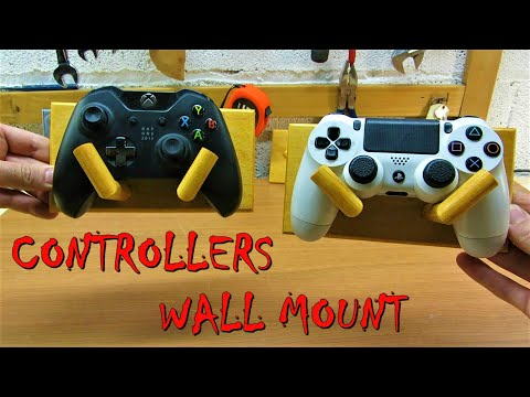 DIY Controllers wall mount