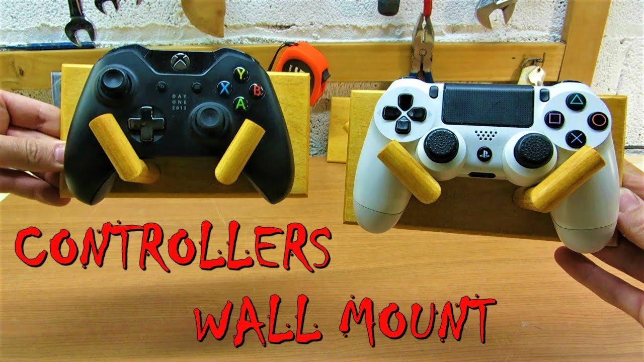Diy Controllers Wall Mount Youtube
