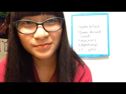 ASMR teacher RP: Latin pronunciation