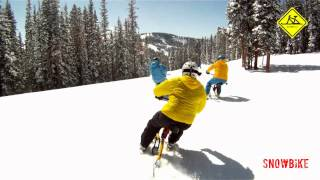 Snowbike  -  riding all the snow in VAIL, CO