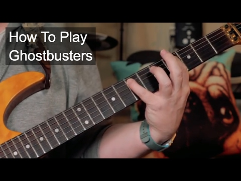 'Ghostbusters' Guitar Lesson